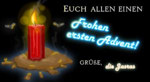 frohen ersten advent 2011!